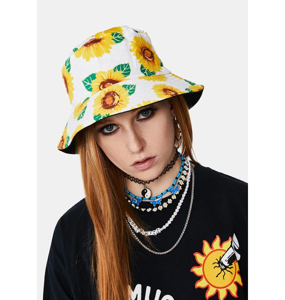 Sunny Days Reversible Bucket Hat