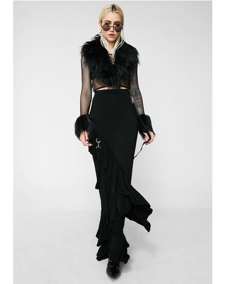 Wicked Wanderer Maxi Skirt