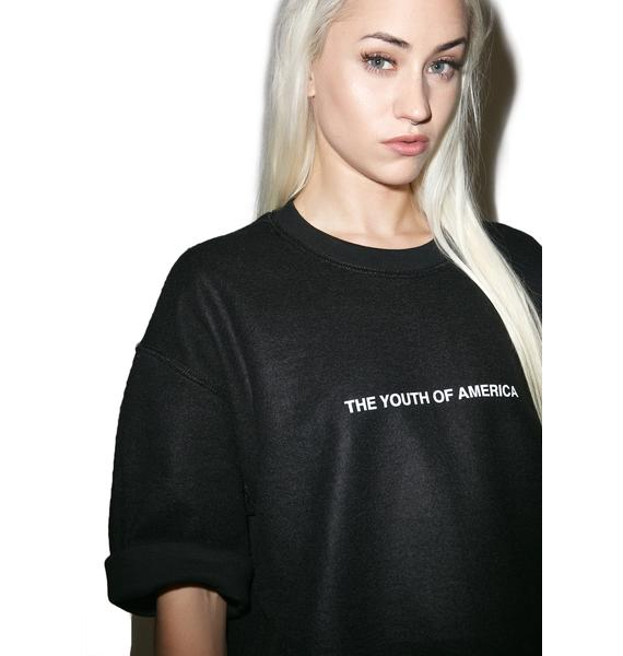 Danielle Guizio Youth Of America Sweatshirt Tee