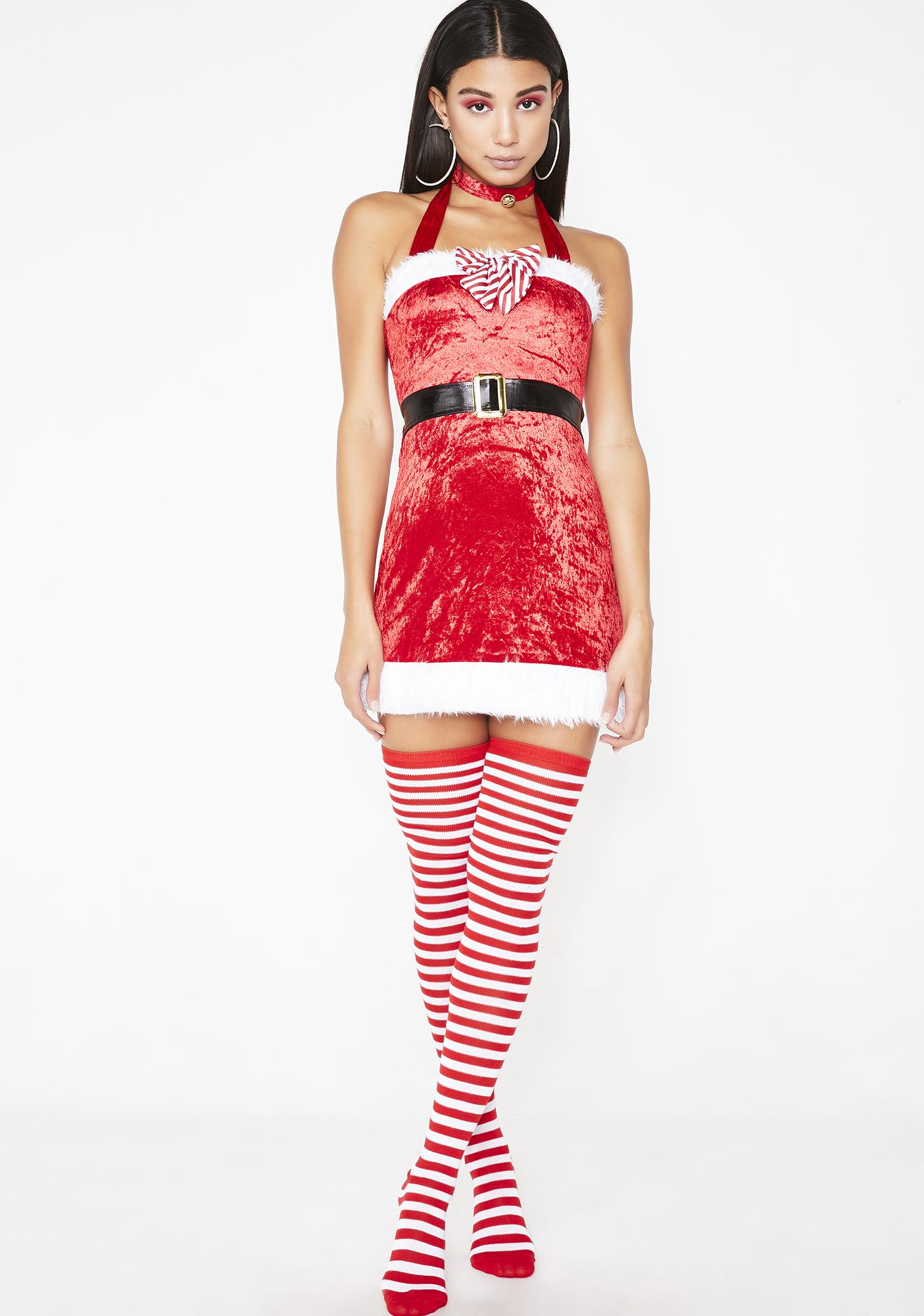 Santa's Sugar Baby Costume Set