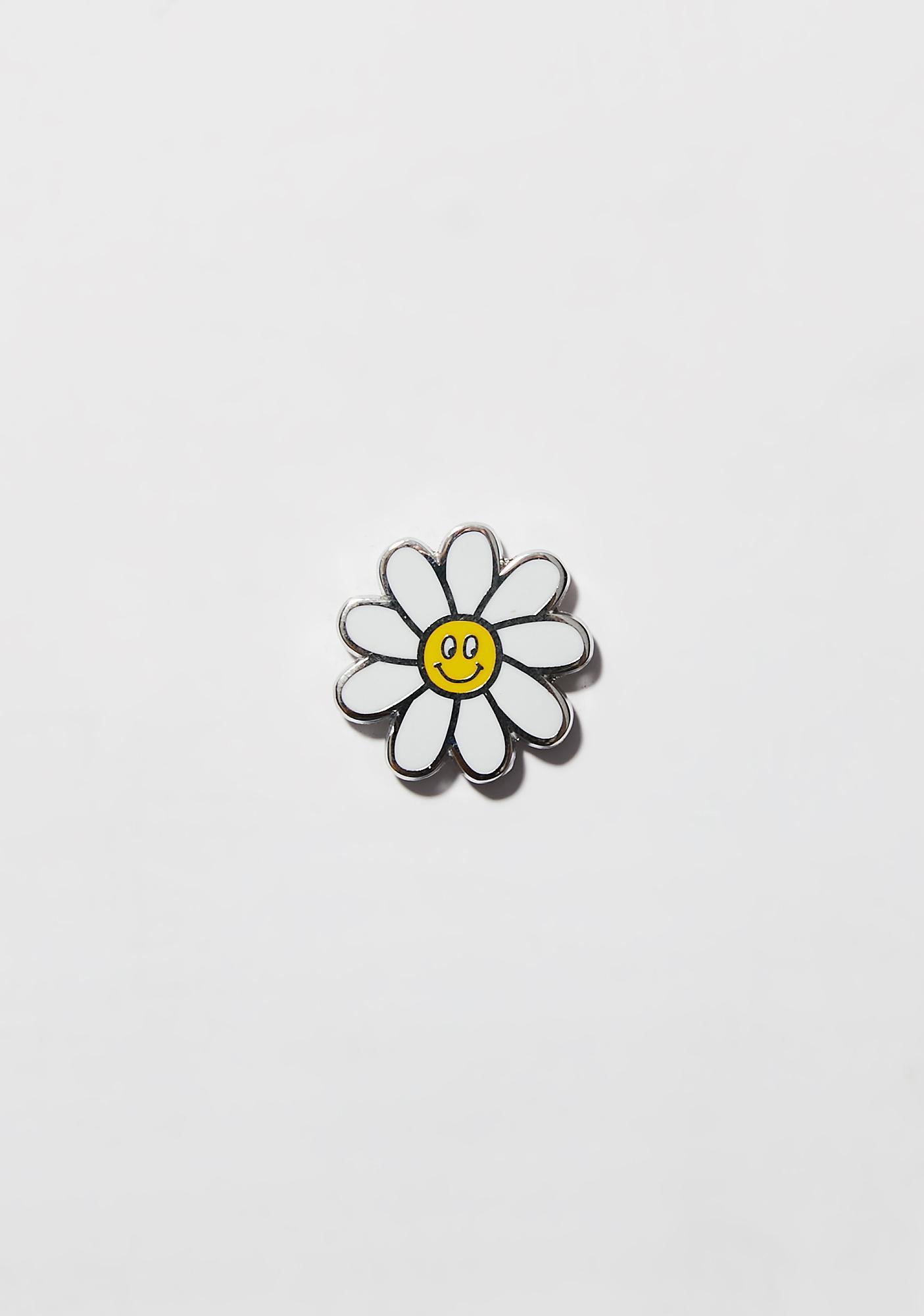 Lazy Oaf Daisy Pin Badge