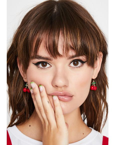 Pop My What?! Drop Earrings