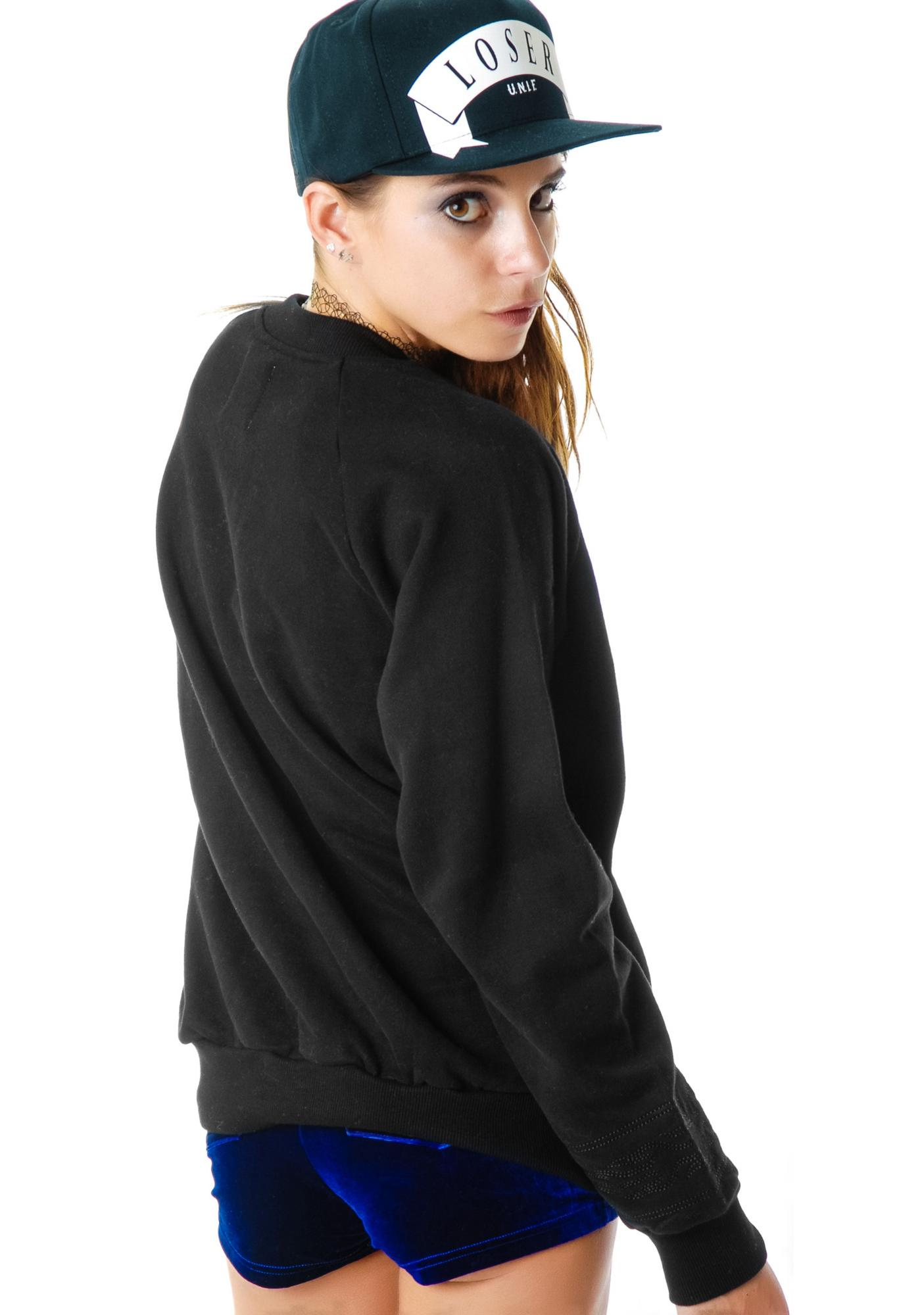 UNIF Braille Sweatshirt