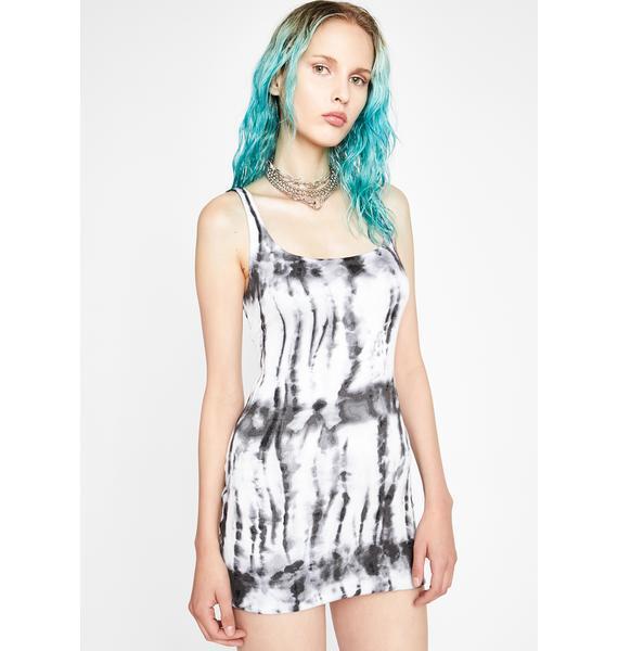 Noir Sweet Nothing Tie Dye Dress