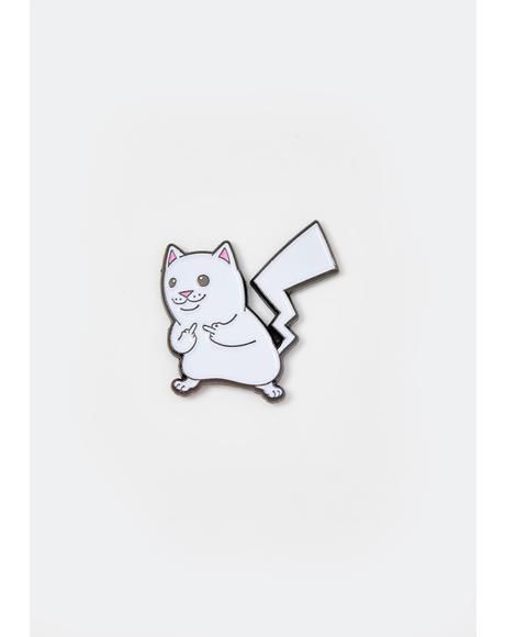 Catch Em All Enamel Pin