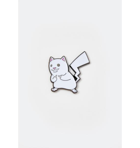 RIPNDIP Catch Em All Enamel Pin