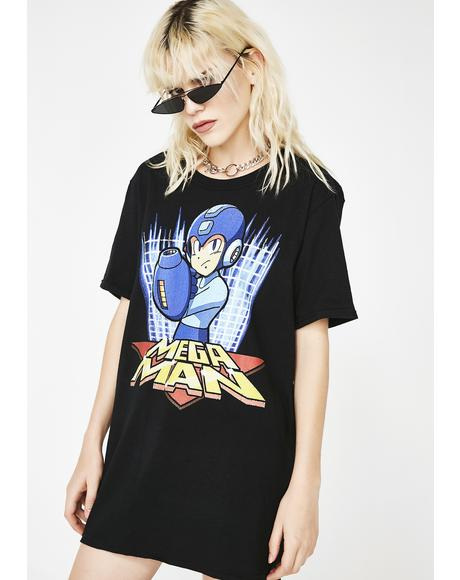 Blue Bomber Graphic Tee