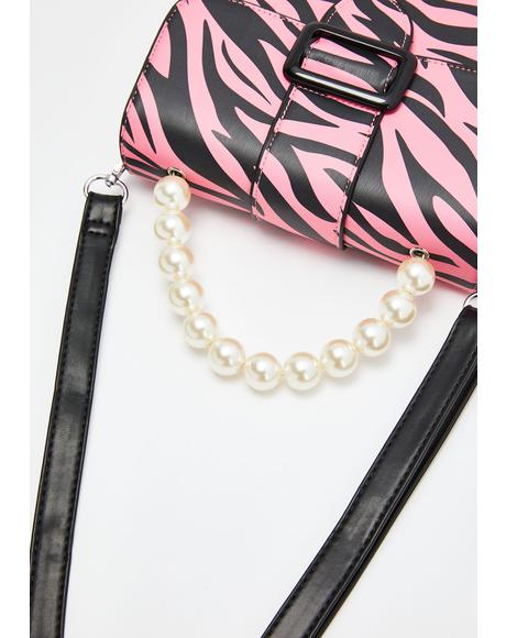 Estelle Zebra Crossbody Bag
