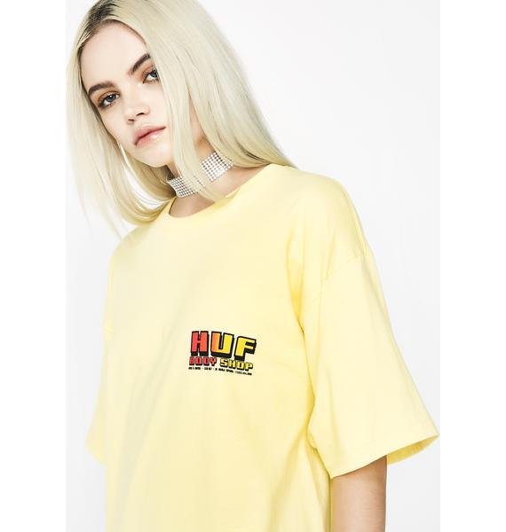 HUF Body Shop Short Sleeve Tee