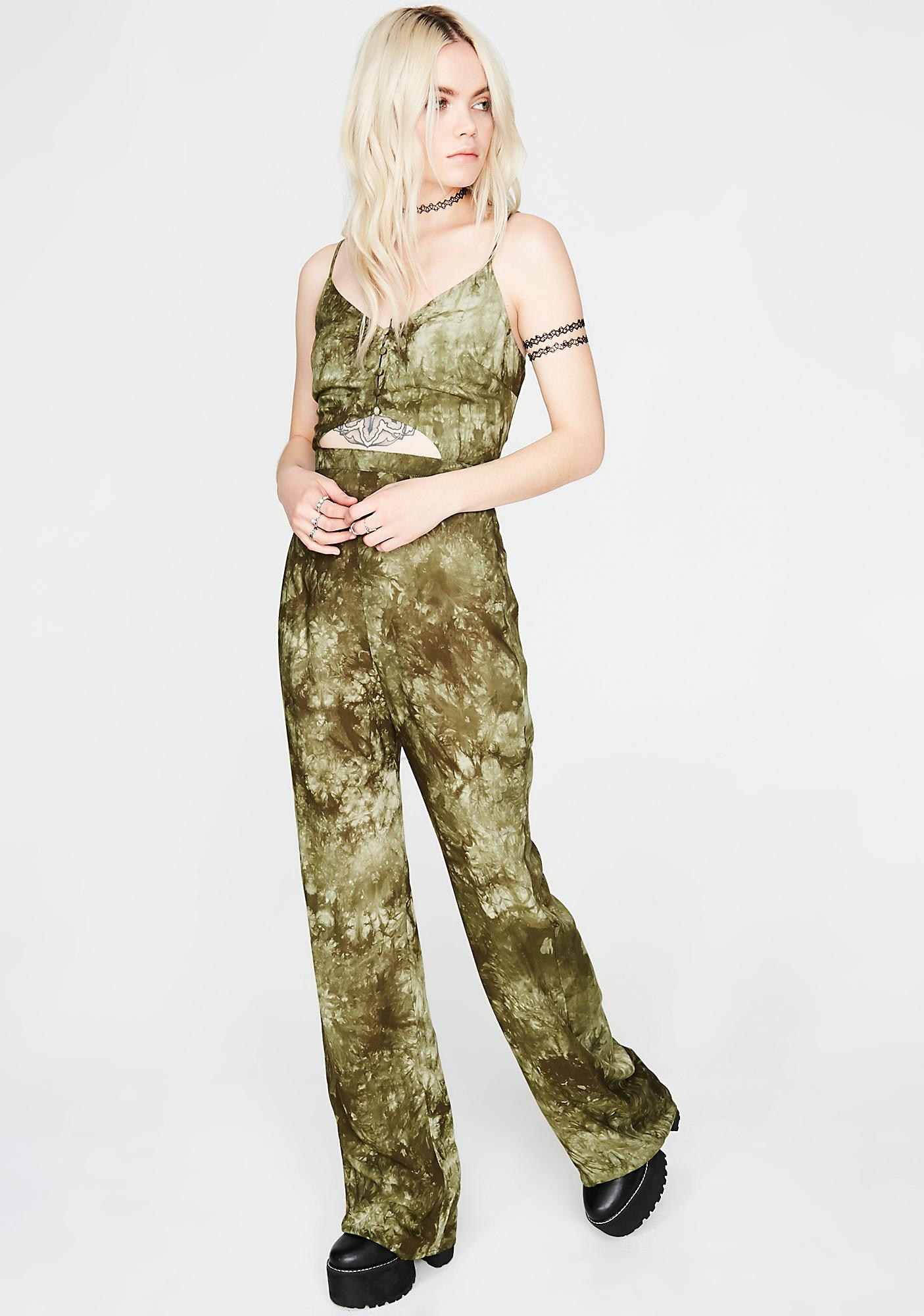 Free Thinker Cut-Out Jumpsuit