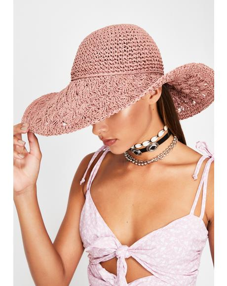 Wildflower Babe Straw Hat