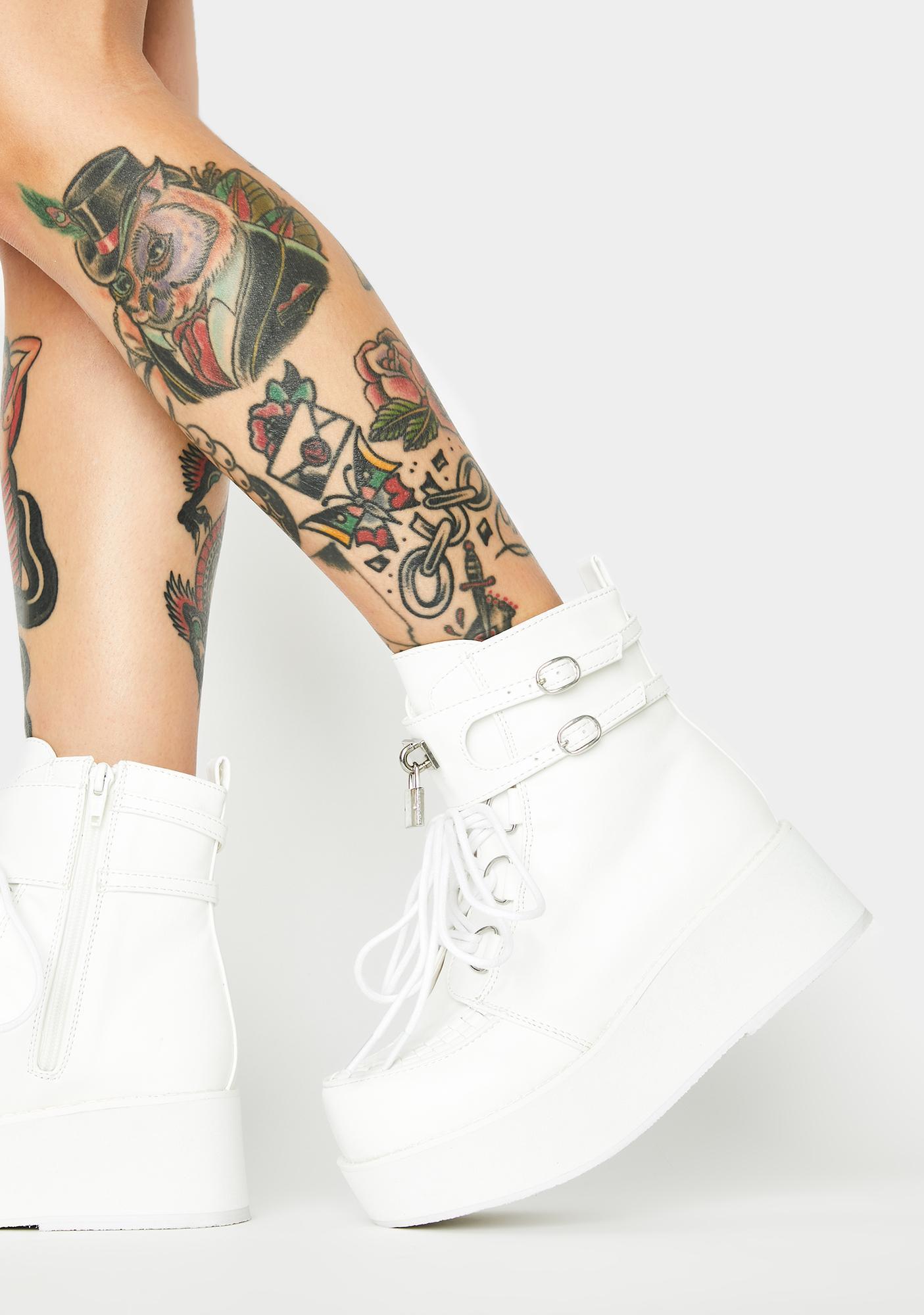 Demonia Sprite Platform Boots
