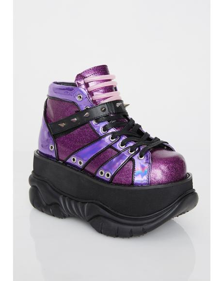 Planet Neptunez UV Platform Sneakers