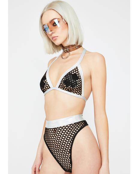 Infinite Matrix Fishnet Set