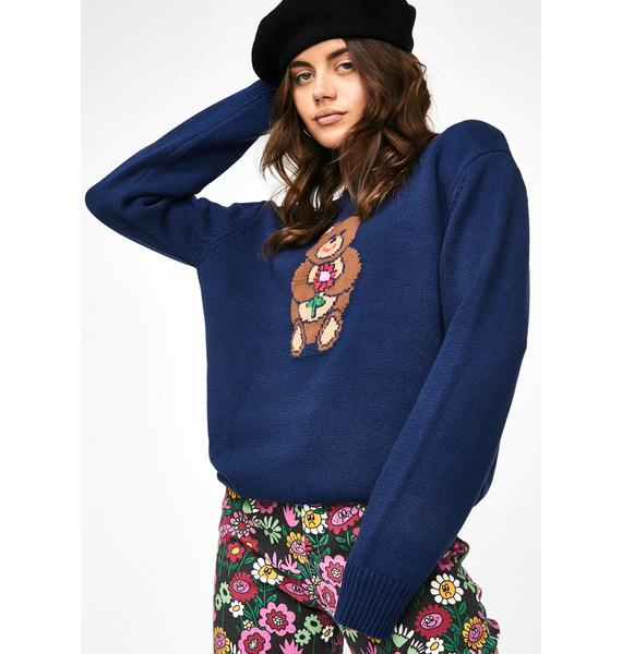 Lazy Oaf Bearing Gifts Knit Jumper