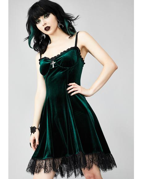 Blind Faith Velvet Dress