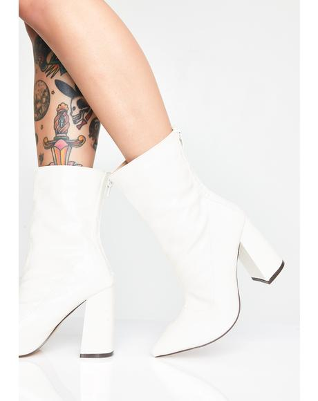 Pure Dangerous Love Croc Booties