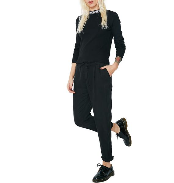 Obey Charlie Cropped Trouser