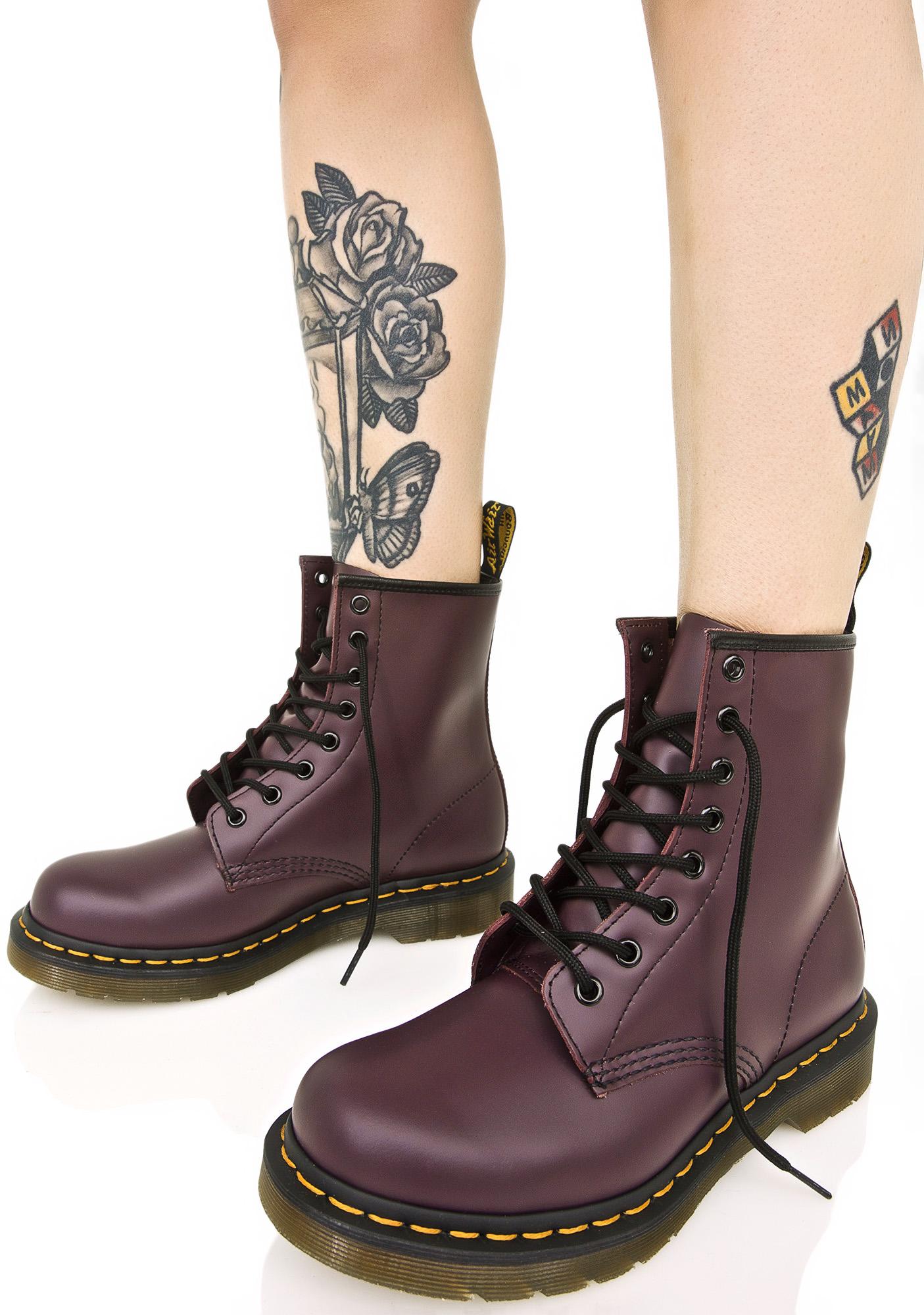 Dr. Martens Royal Purple 1460 8 Eye Boots