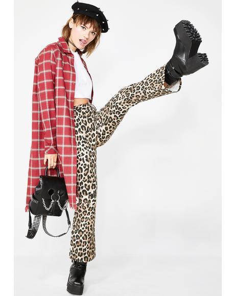 Delinquent Leopard Pants