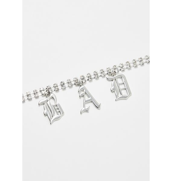 Bad Reputation Rhinestone Choker