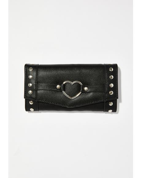 I Heart Metal Wallet
