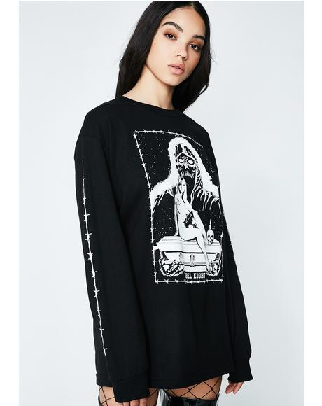 Death Maiden Long Sleeve Tee