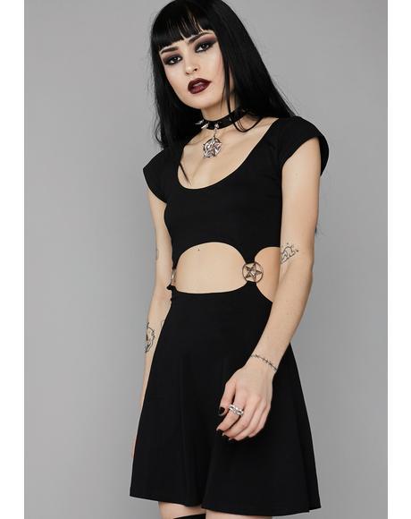 Spiritual Realm Skater Dress