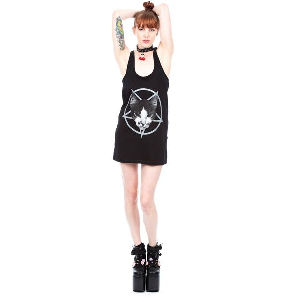 Kitty Pentagram Tank Dress