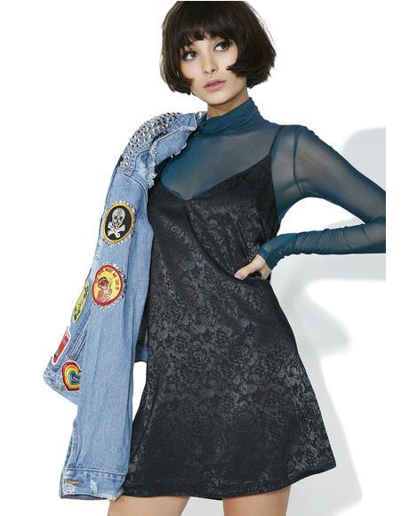 Prue Satin Slip Dress