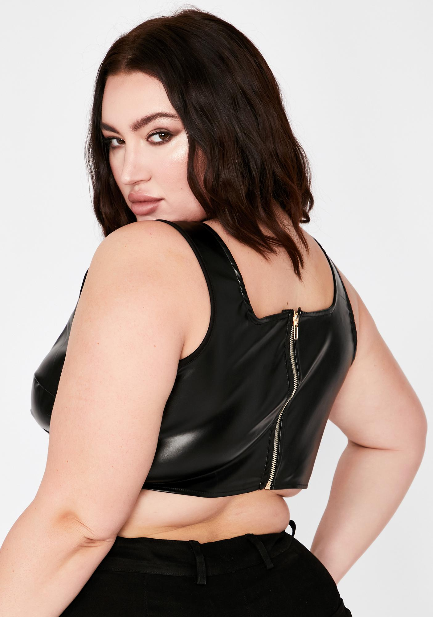 Onyx Totally All For It Crop Tank
