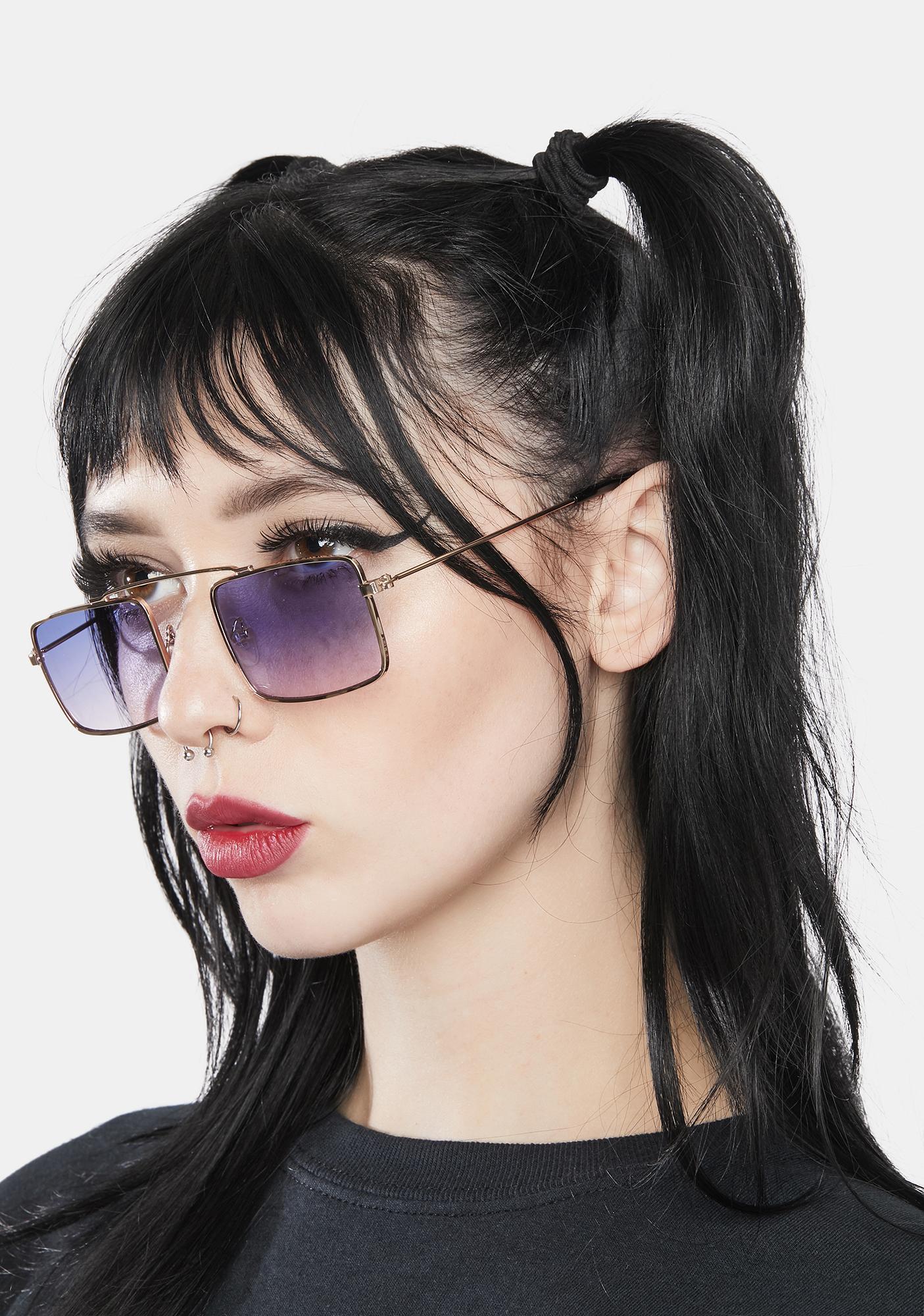 You Talking To Me Aviator Sunglasses