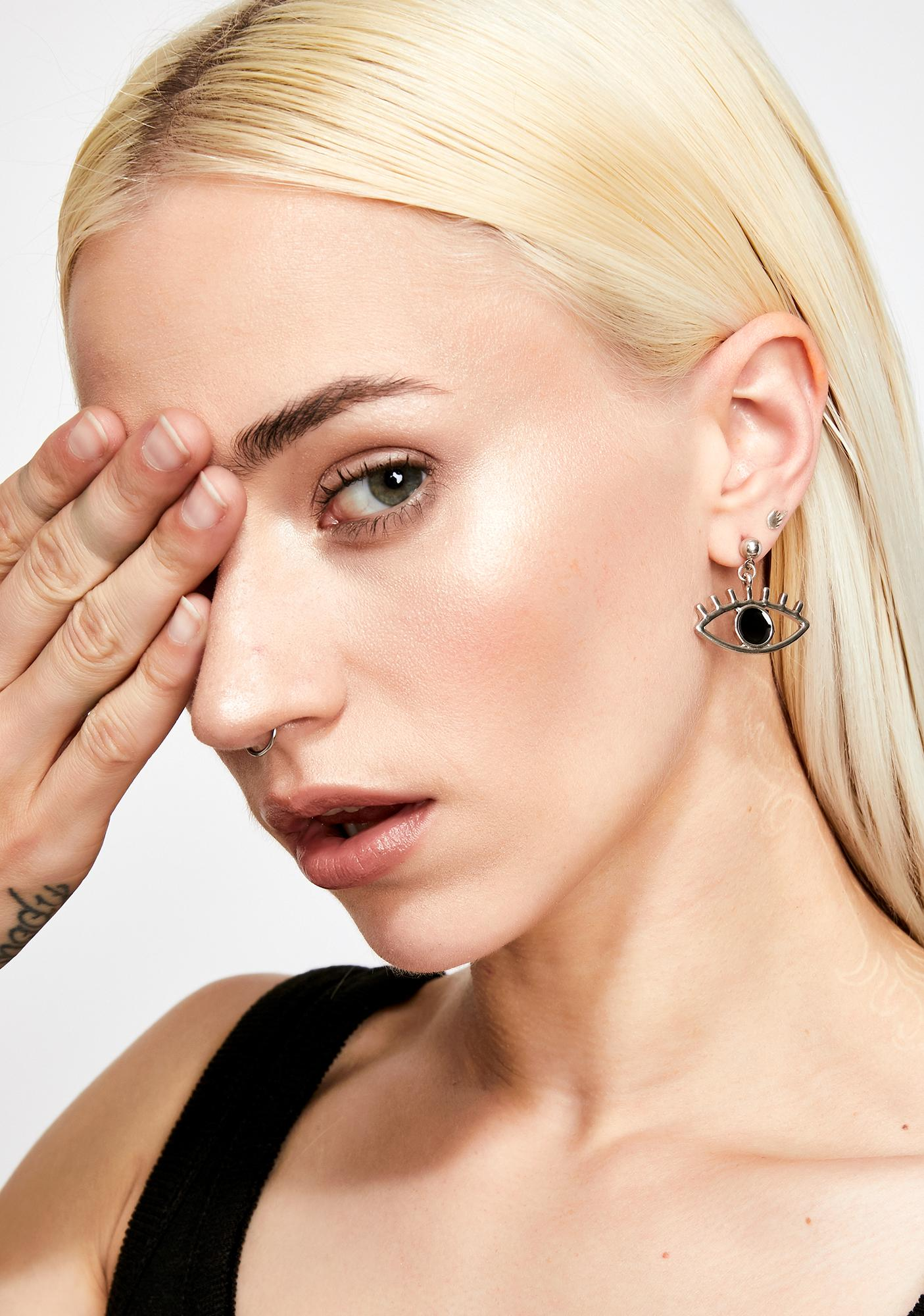 Illuminaughty Eye Earrings