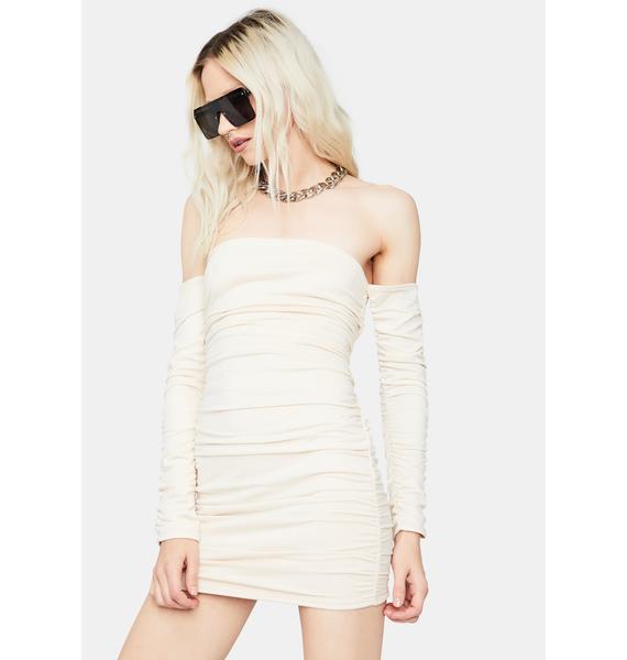 Vanilla Stick to the Drill Bodycon Dress