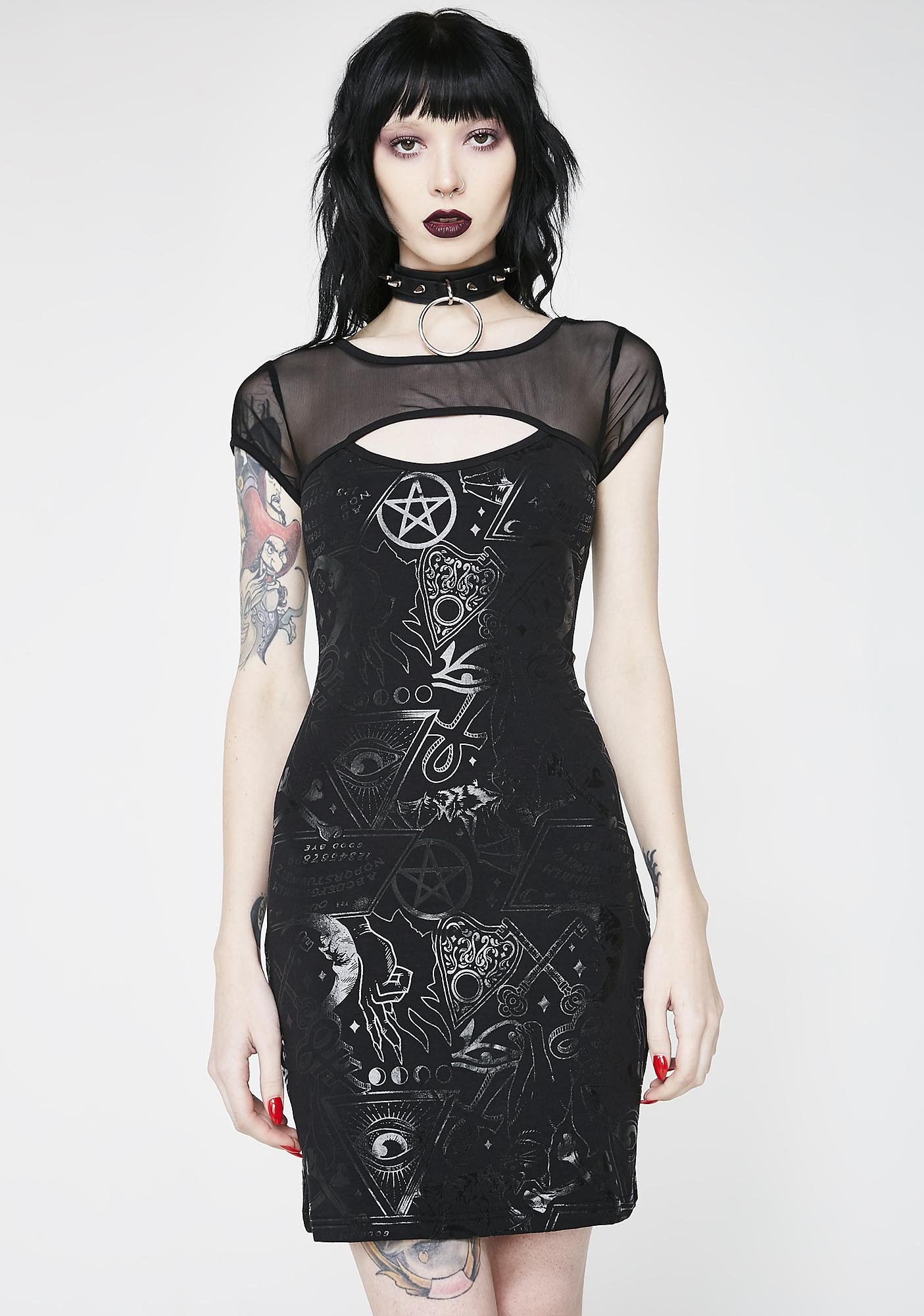 Killstar Grave Girl Bodycon Dress