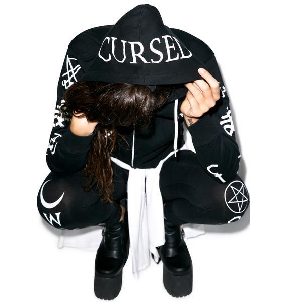 Cursed Zip Up Sweatshirt