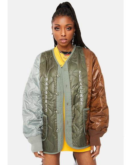 Misery Paneled Quilted Jacket