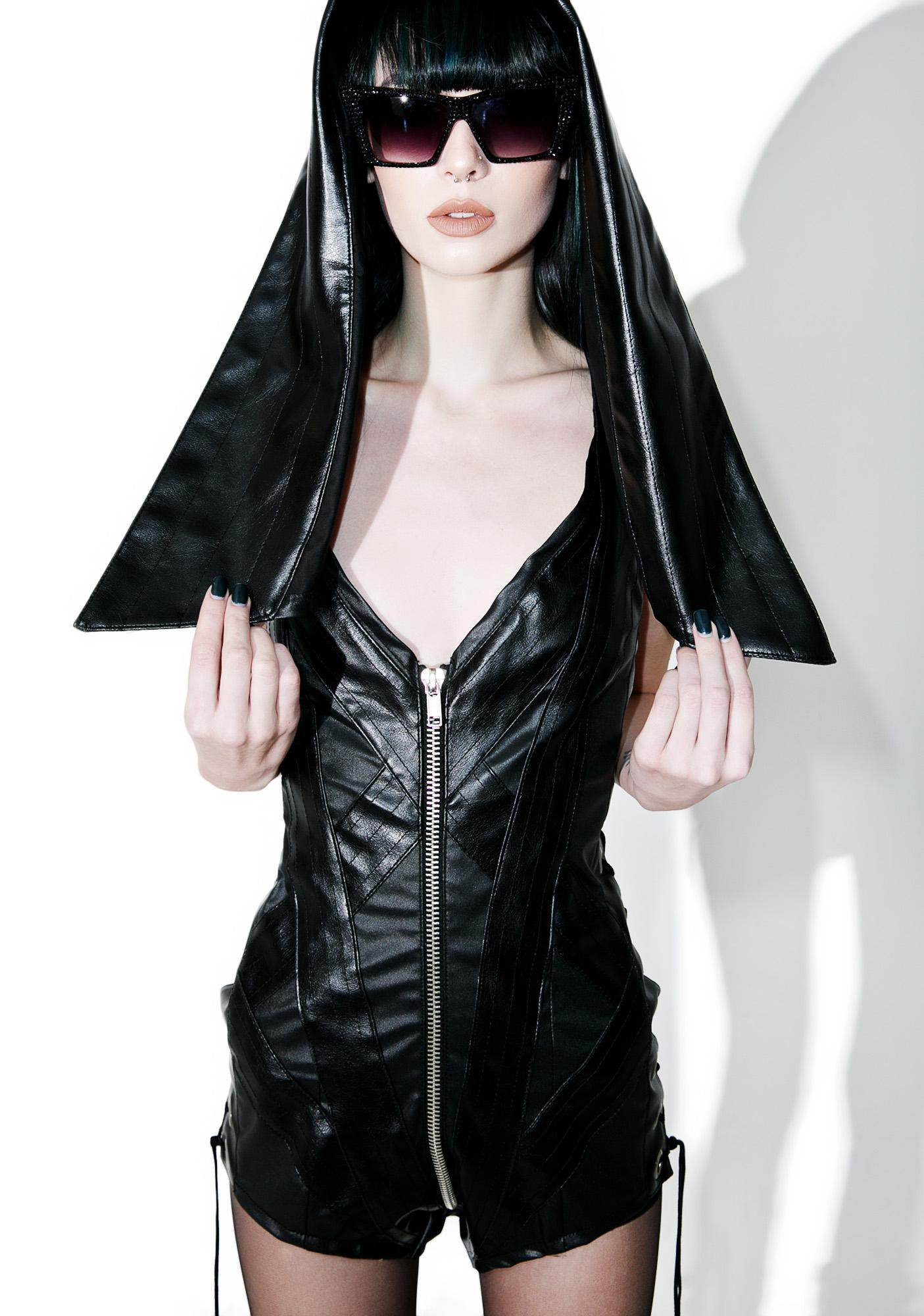 Hazmat Design Coven Hooded Romper