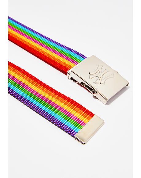 NY Rainbow Belt