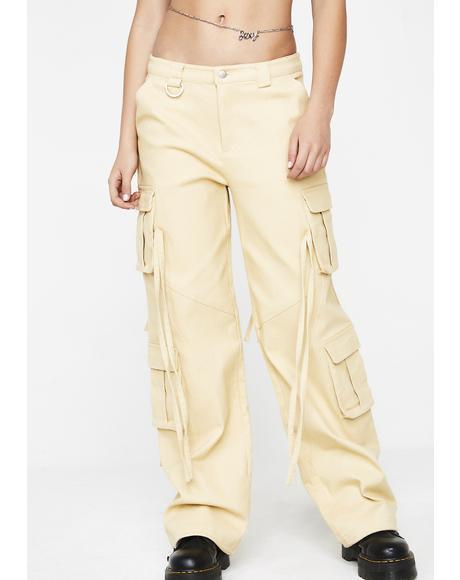 Tan Altra Pants