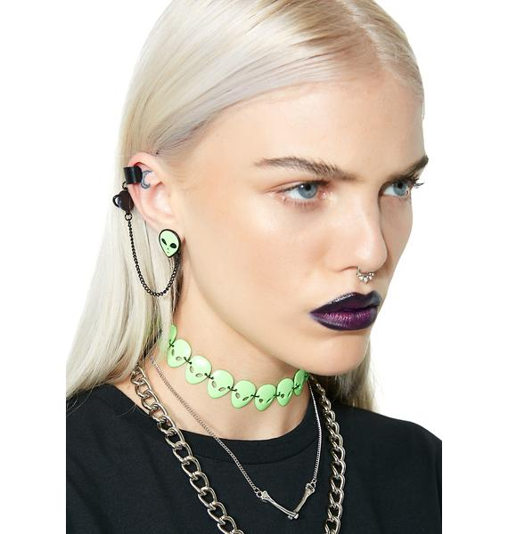 Space Out Earring Cuff