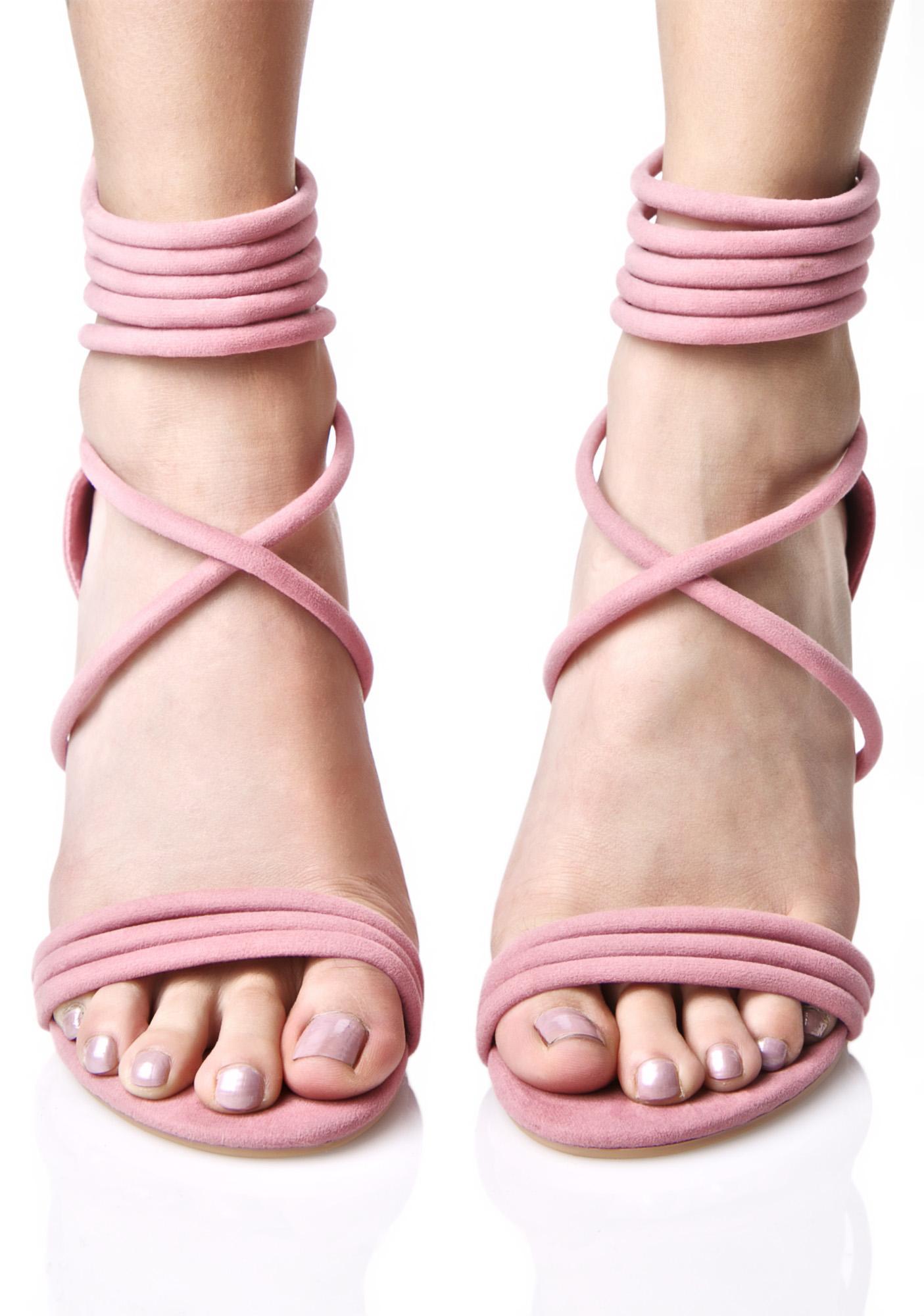 Kristie Strappy Heels