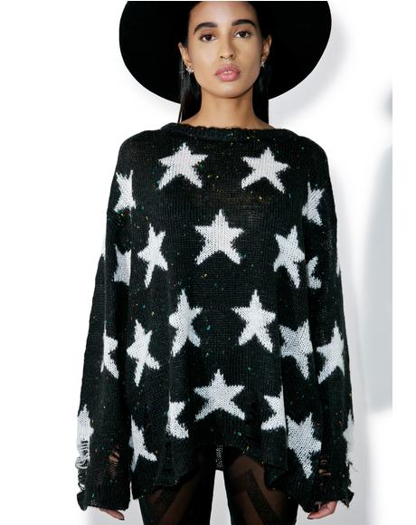 Noir Seeing Stars Lenon Sweater