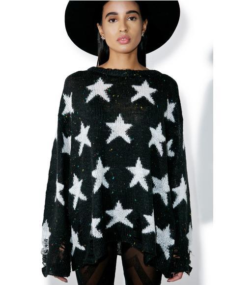 Noir Seeing Stars Lenon Sweater