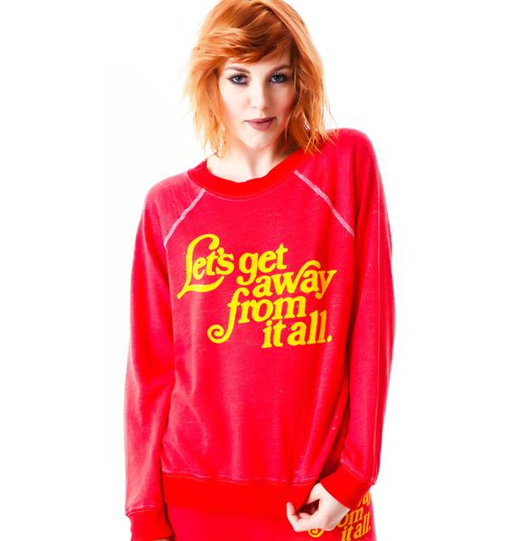 Wildfox Couture Let's Get Away Kim's Sweater