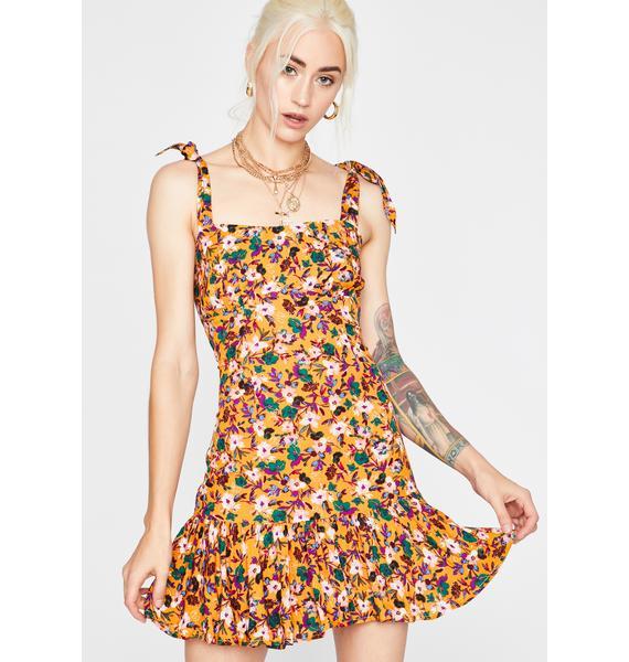 Summer Bloom Floral Dress