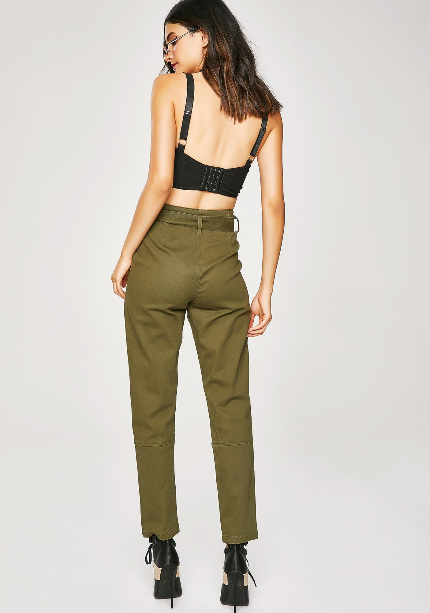 Smart Cookie Belted Pants