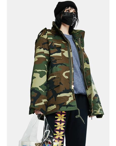 Camo M-56 Field Jacket