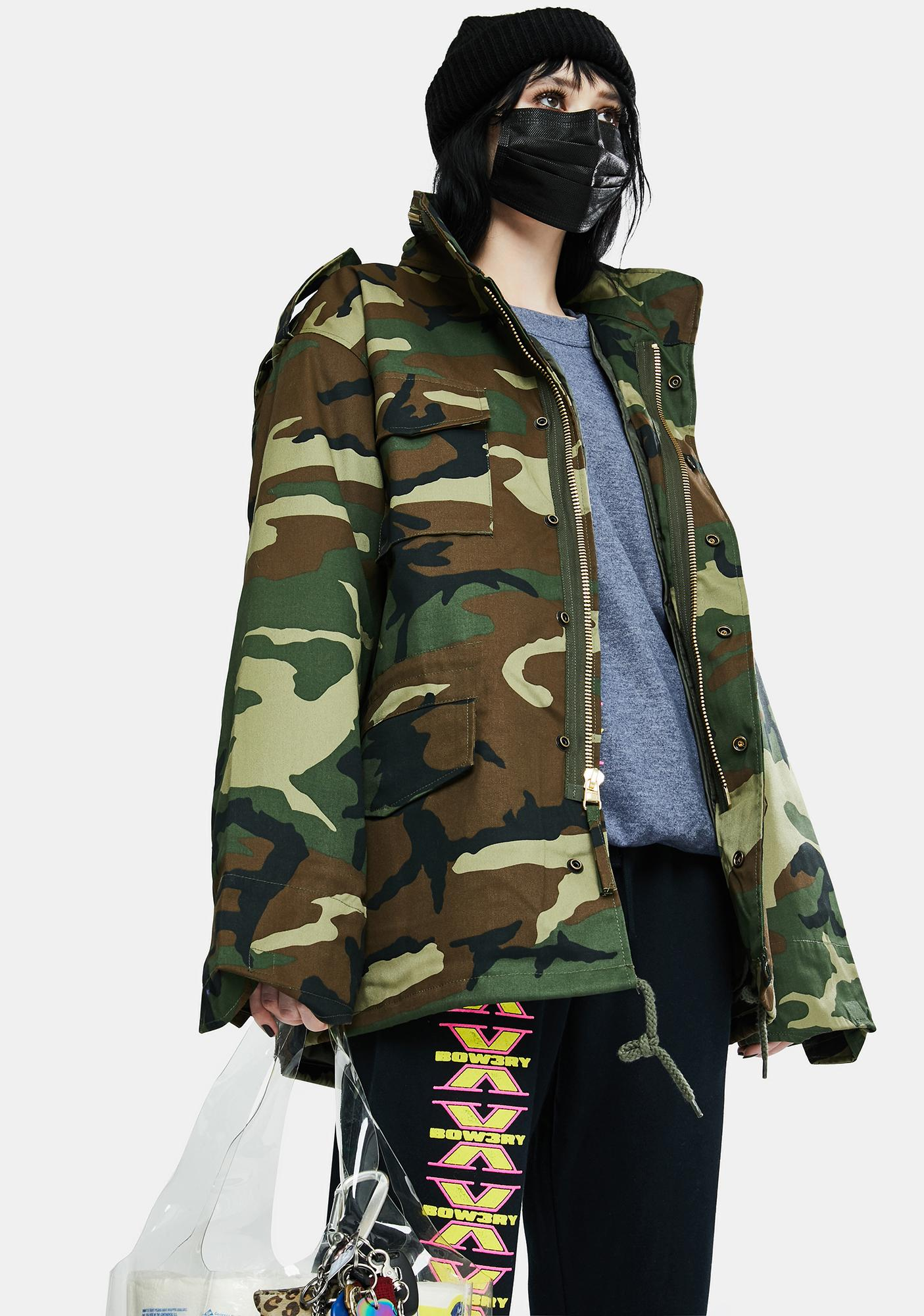 Rothco Camo M-56 Field Jacket