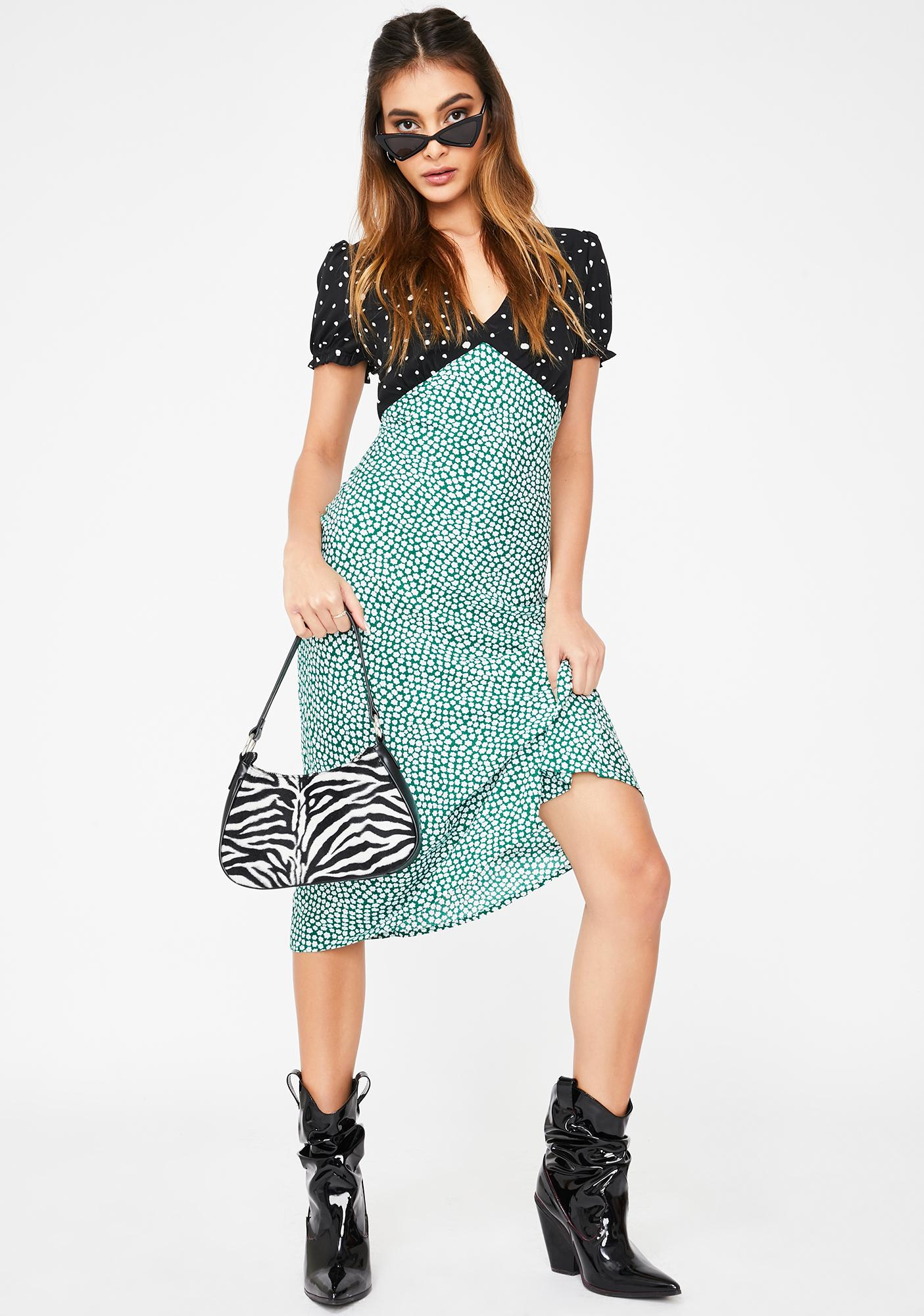 Different Seasons Maxi Dress